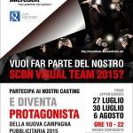 Locandina Visual team 2015