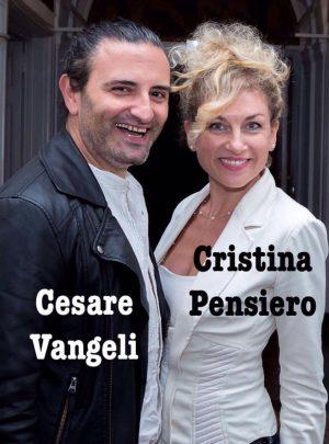 cesare vangeli e Cristina pensiero