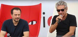 Ligabue e Stefano Accorsi
