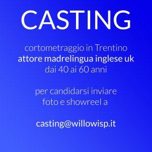 CASTING Trentino Corto