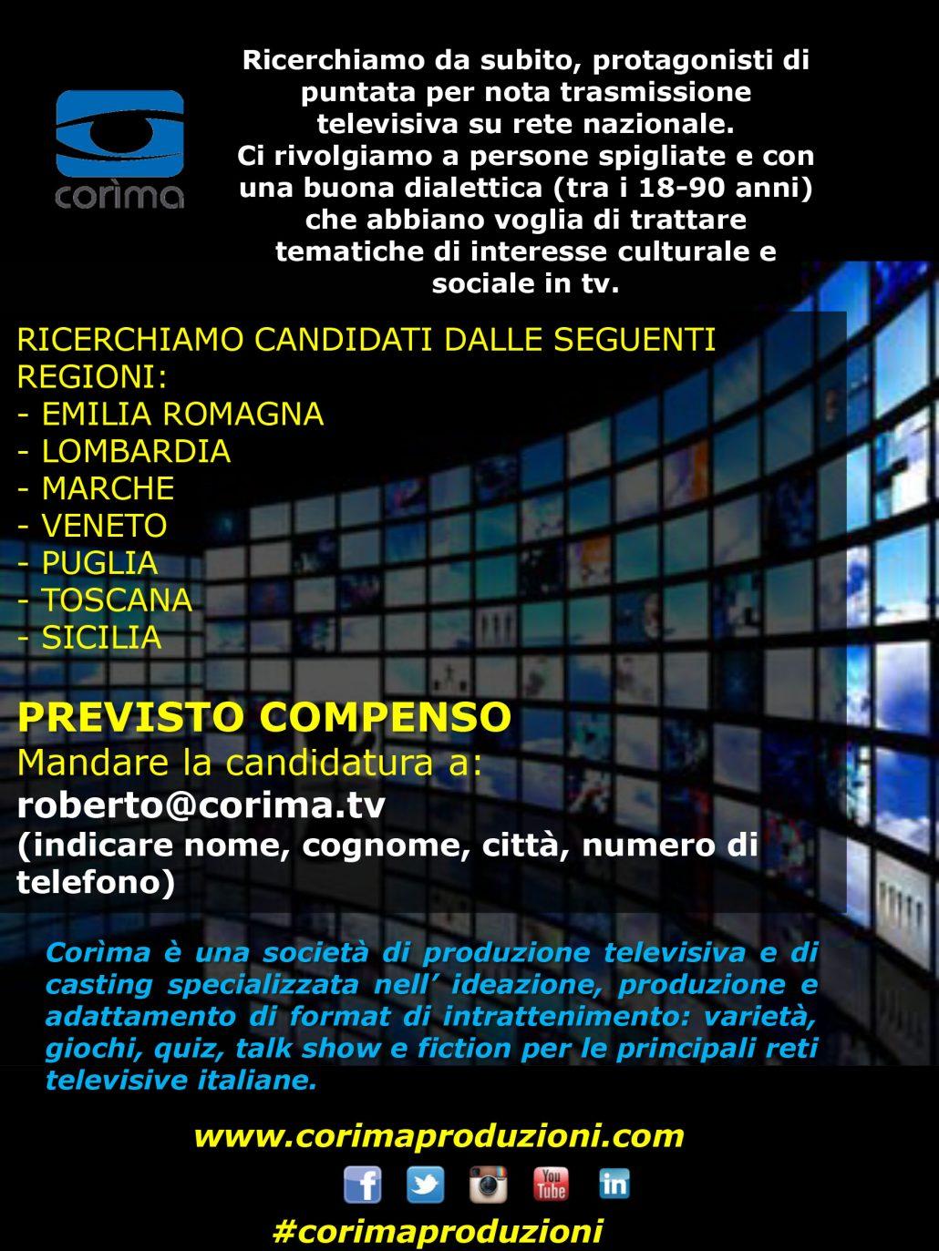 Casting Corìma TV