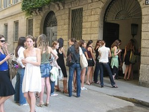 Provini modelle e modelli Milano