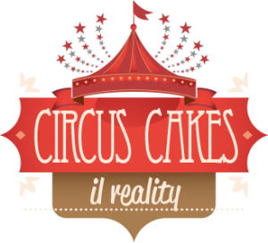 logo the circus cake