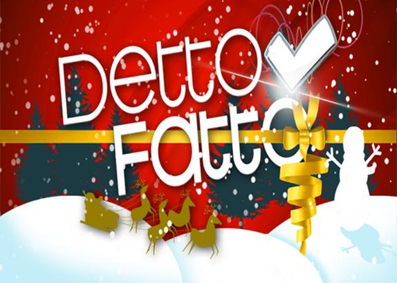 Partecipa a Detto Fatto su Rai 2, con Caterina Balivo!