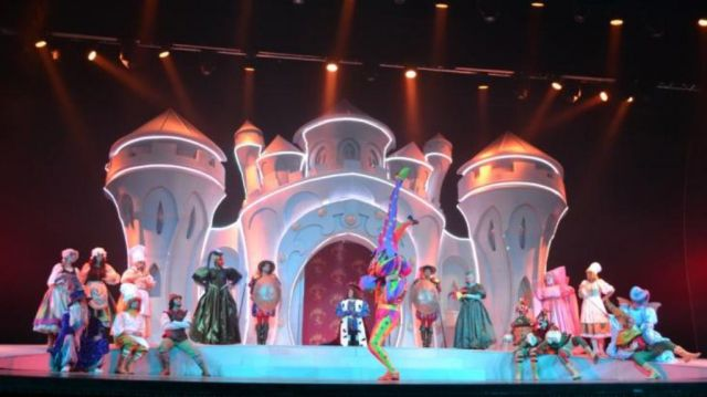 rainbow magicland gran teatro show