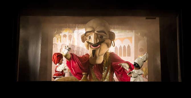 Aladino, Sancarlino 2013