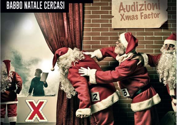 Casting per Babbo Natale nel mese di dicembre