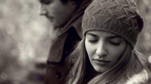 coppia triste