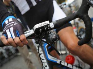 ciclista telecamera