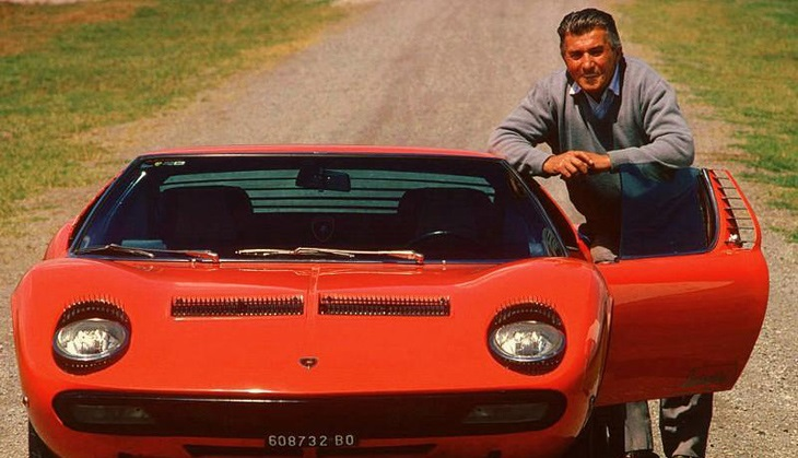Ferruccio_with_Lamborghini