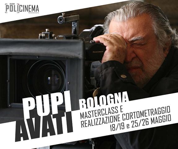 Corso Pupi Avati Cortometraggio Bologna
