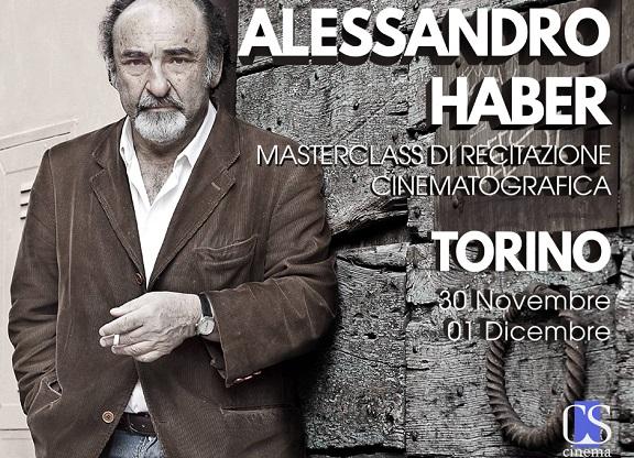 Masterclass di recitazione Alessandro Haber