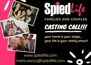 SpiedLife casting call