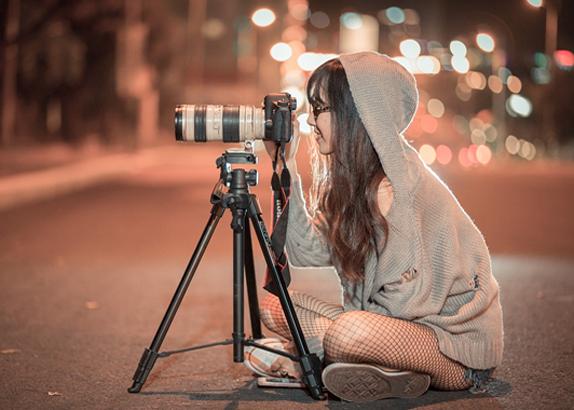 spot macchina fotografica